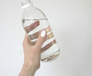 water, white, and nails image