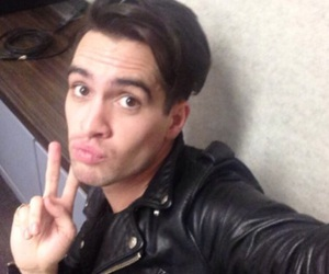 P!ATD, brendon urie, and panic! at the disco image
