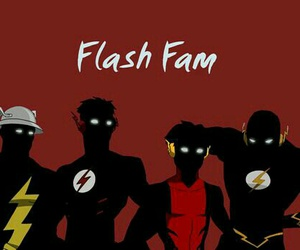 the flash, barry allen, and wally west image