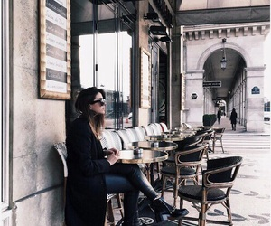 vogue, city, and coffee image