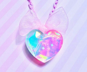 accessory, blue, and heart image