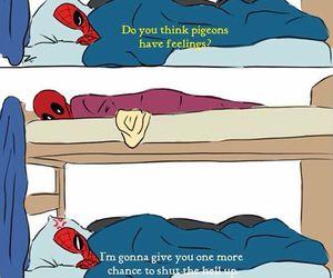 deadpool, spiderman, and spideypool image