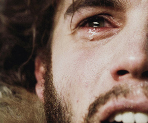 into the wild, emile hirsch, and crying image