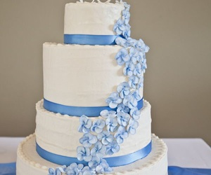 blue, cake, and sweets image