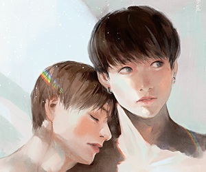 army, bts, and fanart kpop image