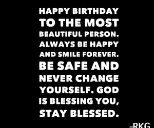 quote, birthday, and love image