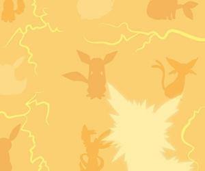 pokemon, jolteon, and pokemon go image