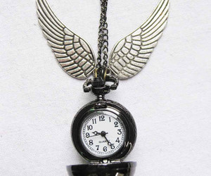 clock, harry potter, and jewels image