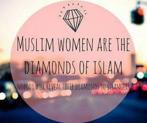 muslim, islam, and diamond image