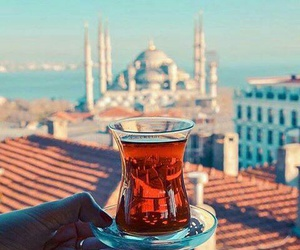 istanbul, tea, and turkey image