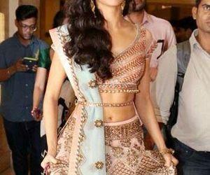 saree, sari, and awesome image