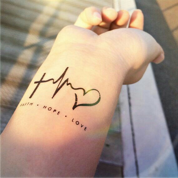 Faith Hope Love Discovered By Jenny On We Heart It