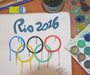 art, olympics, and opening ceremony image