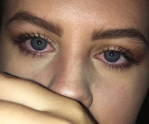 broken, cry, and eyebrows image