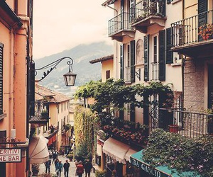 travel, italy, and street image