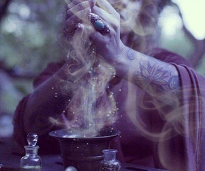 magic, witch, and spell image