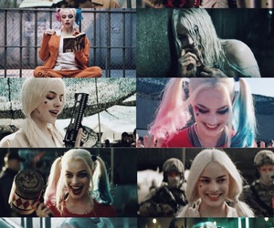 background, harley quinn, and wallpaper image