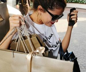 selena gomez and shopping image