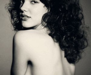 curly, girl, and model image