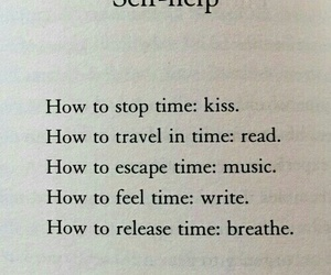breathe, self-help, and kiss image
