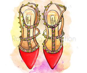 boho, fashion, and fashion illustration image