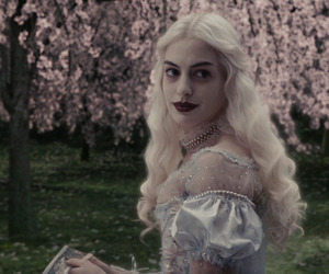 alice in wonderland, nature, and Anne Hathaway image