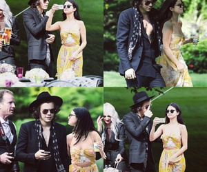 selena gomez and Harry Styles image