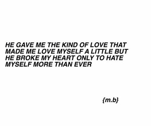broken and quote image