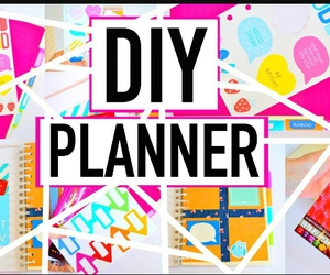 back, diy, and planner image