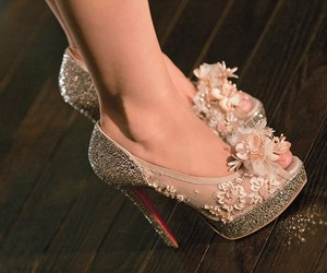 flower, louboutin, and pretty image
