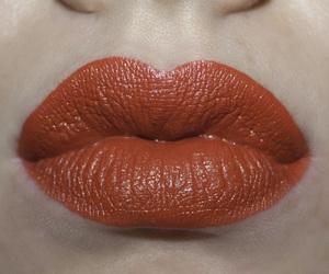 lips, orange lips, and london fog image
