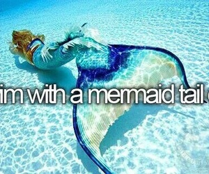 bucket list, bucketlist, and mermaid image