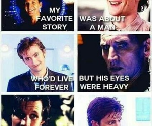 doctor who, bbc, and 10th doctor image