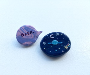 accessory, pin, and polymer clay image