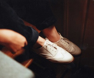 shoes, vintage, and oxford image