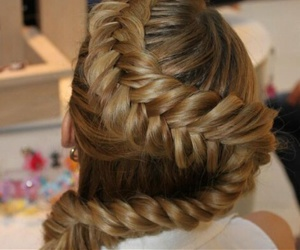 hair, braid, and beautiful image