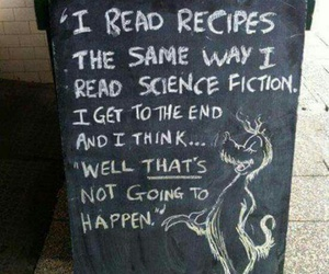 funny, cooking, and quote image