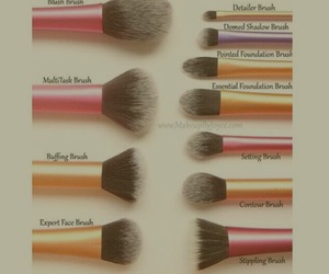 Brushes, makeup, and diy image