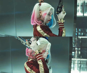 harley quinn and movie image