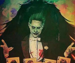 joker, suicide squad, and batman image