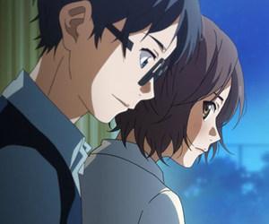 anime, arima kousei, and tsubaki sawabe image