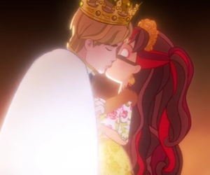 ever after high, daring charming, and rosabella beauty image