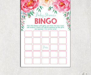 etsy, tea party, and baby shower games image