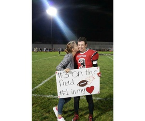 boyfriend, football, and homecoming image