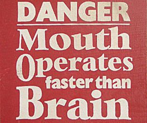 quotes, mouth, and brain image