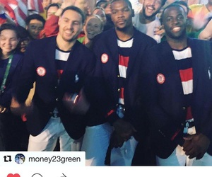 team usa, kevin durant, and draymond green image