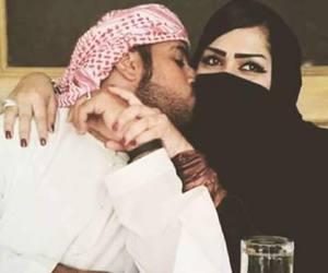 arab, couple, and muslim image