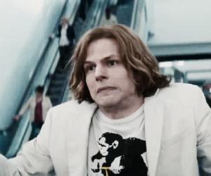 DC, jesse eisenberg, and Lex Luthor image