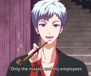 anime, hot guy, and smoke image