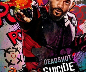 deadshot, suicide squad, and will smith image